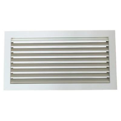 Griglia ripresa aria calda fredda alluminio portafiltro 500x300 bianca