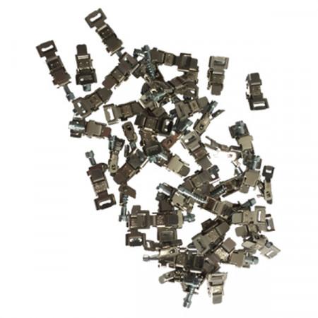 Chiusure a Testa Basculante Strip-Uniblock per Strip Steel/F - Confezione 50 pezzi
