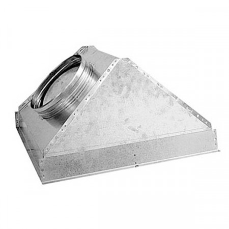Plenum Trapezoidale PFU GAFP88/GFFP37 600x300 Ø 200 mm