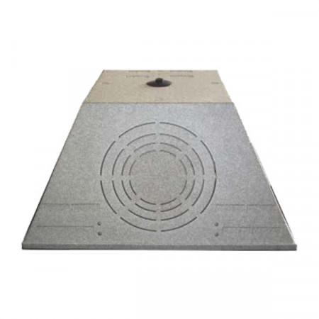 Plenum Trapezoidale SFW-PL-KIT 596x596 mm