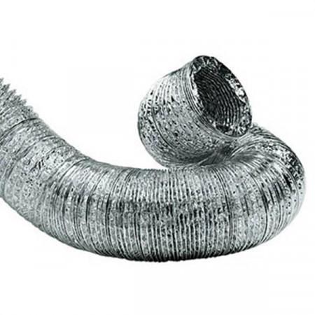 Tubo Flessibile in Alluminio Compri Flex M1 ø 100 mm per Impianti di Condizionamento - Confezione 10 metri