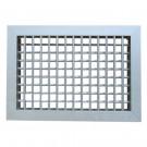Bocchetta di Mandata Aria GAC21IT 200x100 mm - Finitura Alluminio