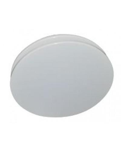 Diffusore circolare DARP a soffitto ø250 a schermo pieno regolabile in 3 posizioni RAL9003