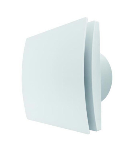 Estrattore Assiale Silenzioso in ABS 1 Velocit? 164x164 mm ? 99 mm Energy Silence Evo 100