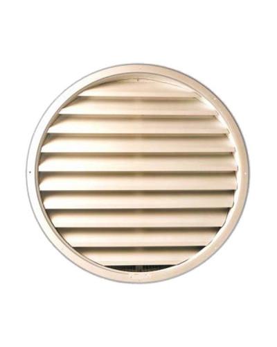 Griglia di Aerazione Circolare GRA Ø 125 mm in Alluminio RAL 9010