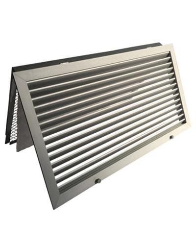 Griglia di Ripresa Portafiltro in Alluminio GL20ZFR 600x200 mm - Alluminio