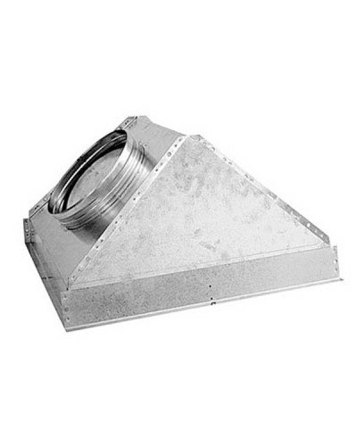 Plenum Trapezoidale PFU600/88 M GAP88 600x600 ø 250 mm