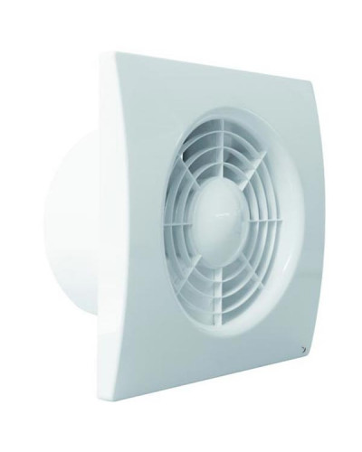 Ventilatore Estrattore Assiale in ABS 1 Velocit? 163x163 mm ? 99 mm Energy Silence 100S