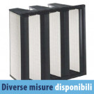Filtro Aria a Tasche Rigide FRV 3D in Fibra di Vetro 287x592x292 mm - M6