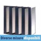 Filtro Aria a Tasche Rigide FRV 4D in Fibra di Vetro 288x593x292 mm - M6