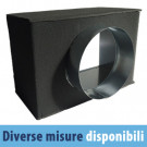 Plenum di Raccordo Isolato PFU20-I 200x100 mm ø 78 mm per Bocchette/Griglie di Ventilazione GAC21IT/GLC20AIT