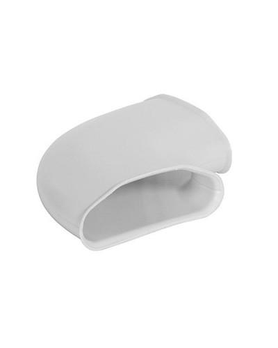 Angolo 90° Orizzontale per Tubo Flessibile ComfoSlim ø 90 mm 132x52 mm