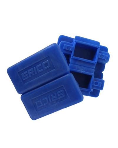 Cappuccio di Sicurezza per Profili Zincati 41x41 e 41x21 - Confezione 100 pezzi