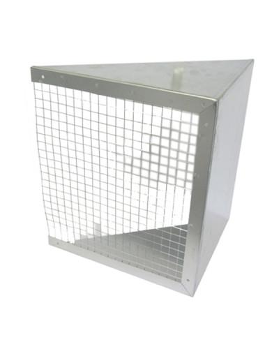 Cuffia Espulsione con Rete CER 12/12 per Ventilatori Centrifughi FVD18/FVDE18