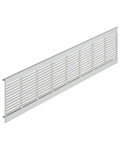 Griglia di aerazione a profilo in alluminio GP 280x60 mm - Anodizzato Bianco