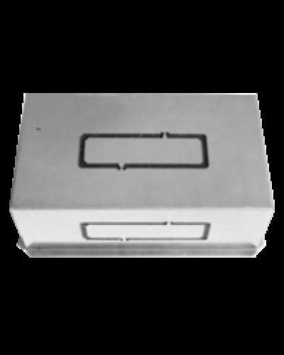 Bocchetta Portagriglia da Incasso PG3 P-L 132x52 mm per Griglia Tamigi1
