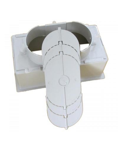Plenum PPS20IT 400x100 mm con Serranda per Griglie e Bocchette GAC21IT/GLC20AIT/GPC21IT