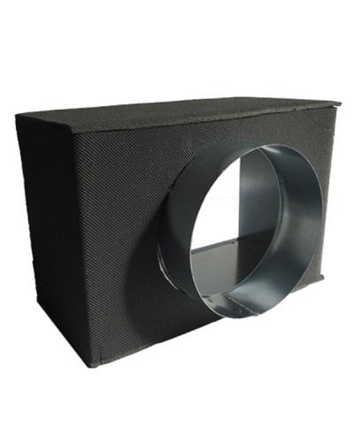 Plenum di Raccordo Isolato PFU20-I 500x100 mm ø 98 mm per Bocchette/Griglie di Ventilazione GAC21IT/GLC20AIT