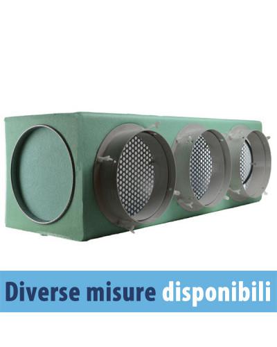 Plenum Isolato in Lamiera Zincata 3 Zone Kit Pronto Impianto Ariottino