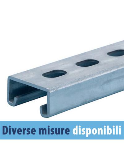 Profilo Zincato 41x21 Lunghezza 2 metri Zinc.15/10