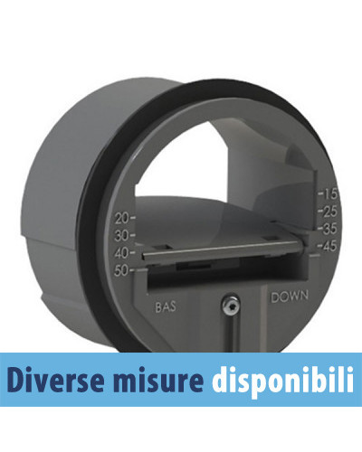 Regolatore Circolare a Portata Costante RAD-2 Regul'Air ø 80 BP 15-50 m3/h (30)