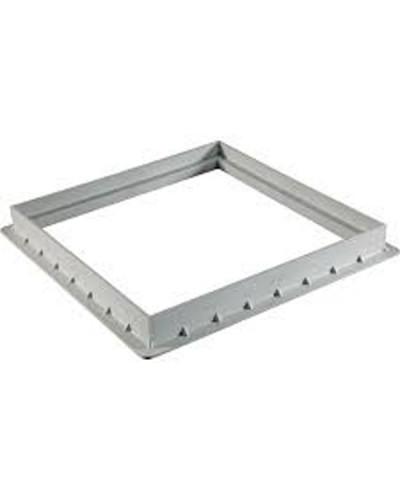 Telaio in acciaio zincato con rete antinsetto per griglia GPFA 150x150 mm