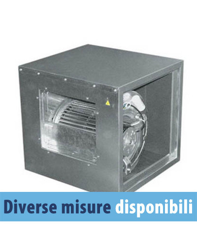 Ventilatore Centrifugo Cassonato FVDE18 taglia 7/7 4 Poli Monofase - Autoportante